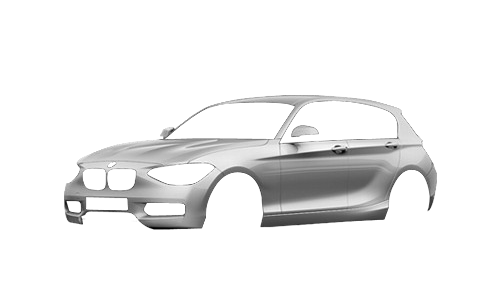 Цвета кузова 1 Series 5-ти дверный (F20)
