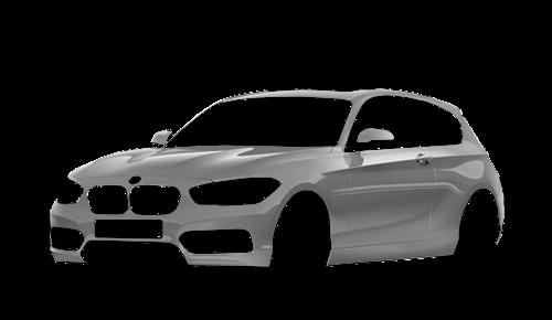 Цвета кузова 1 Series 3-х дверный (F21)