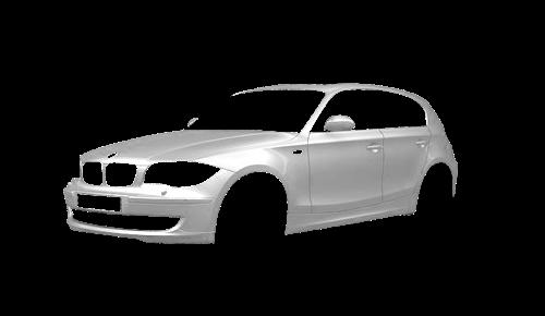 Цвета кузова 1 Series 5-ти дверный (E87)